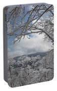 Winter Window Wonder Portable Battery Charger