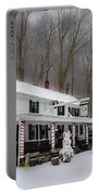 Winter Wonderland At The Valley Green Inn Portable Battery Charger