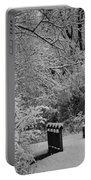 Winter Wonderland Portable Battery Charger by Sebastian Musial