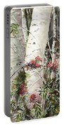Winter Wood Jpg Portable Battery Charger