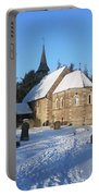 Winter Worship Portable Battery Charger