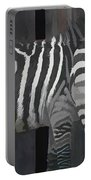 Winter Zebras Portable Battery Charger