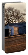 Winter's Cow Barn Portable Battery Charger