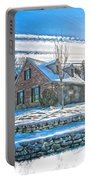 Winters Day Photoart 6 Portable Battery Charger
