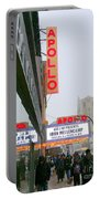 Wintry Day At The Apollo Portable Battery Charger