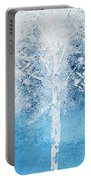 Wintry Mix Portable Battery Charger by Linda Bailey