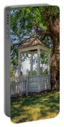 Wishing Well At Yorktown Portable Battery Charger