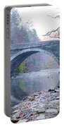 Wissahickon Creek And Valley Green Bridge Portable Battery Charger