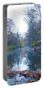 Wissahickon Creek - Fall In Philadelphia Portable Battery Charger