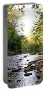 Wissahickon Creek Near Bells Mill Portable Battery Charger