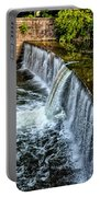 Wissahickon Dam At Ridge Avenue - Side View Portable Battery Charger