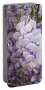 Wisteria Blooms Portable Battery Charger