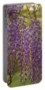 Wisteria Clusters Portable Battery Charger