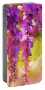 Wisteria Dreams Portable Battery Charger