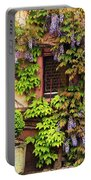 Wisteria On A Home In Zellenberg France 3 Portable Battery Charger