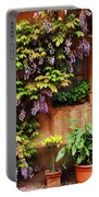 Wisteria On Home In Zellenberg France Portable Battery Charger