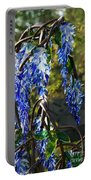 Wisteria Sculpture Portable Battery Charger