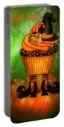 Witch Cupcake 4  Portable Battery Charger