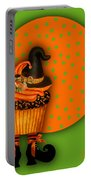 Witch Cupcake 5 Portable Battery Charger