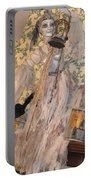 Witch Spirit At The Catfish Plantation Restaurant Portable Battery Charger