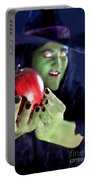 Witch's Apple Portable Battery Charger