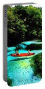 With A Paddle Portable Battery Charger
