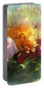 With Love Flower Bouquet Portable Battery Charger