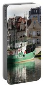 Wladyslawowo And Gdynia In Gdansk Harbor Portable Battery Charger
