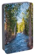 Wolf Creek Flowing Downstream  Portable Battery Charger