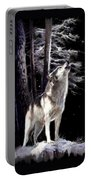 Wolf  Howling Memory Portable Battery Charger