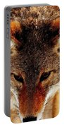 Wolf In The Wild Portable Battery Charger