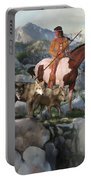 Wolf Maiden Portable Battery Charger