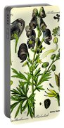 Wolfsbane Portable Battery Charger by Georgia Fowler