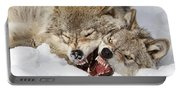 Wolves Rules Portable Battery Charger