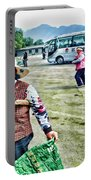 Woman In China Portable Battery Charger