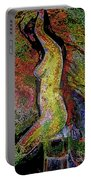 Woman In Glow Portable Battery Charger