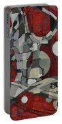 Woman Man Woman Portable Battery Charger by Mark Jordan