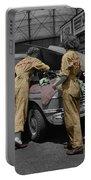 Women Auto Mechanics Portable Battery Charger