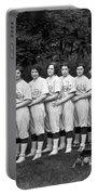 Women's Baseball Team Portable Battery Charger