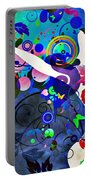 Wondrous Night Portable Battery Charger by Angelina Vick