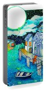 Woobies Character Baby Art Colorful Whimsical Design By Romi Neilson Portable Battery Charger