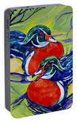 Wood Duck 2 Portable Battery Charger