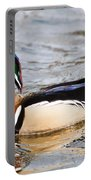 Wood Duck Profile Portable Battery Charger