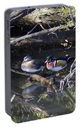 Wood Duck Reflections Portable Battery Charger