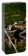 Wood Duck Rest Time Portable Battery Charger