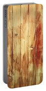 Wood Panels Portable Battery Charger