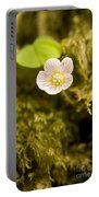 Wood Sorrel Portable Battery Charger