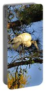 Wood Stork Perch Portable Battery Charger