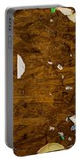 Wood Texture Portable Battery Charger
