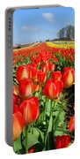 Woodburn Tulip Fields Portable Battery Charger